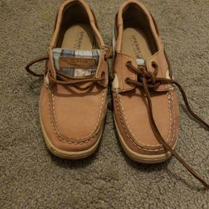 Kids size 3 sperry